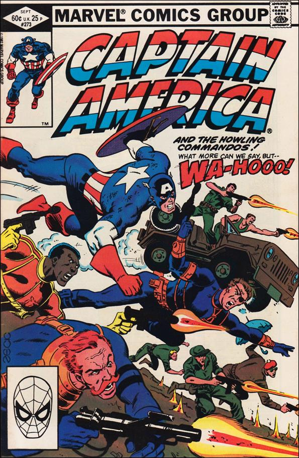 Captain America (1968) 273-A by Marvel