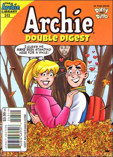 Archie's Double Digest Magazine 243-A by Archie