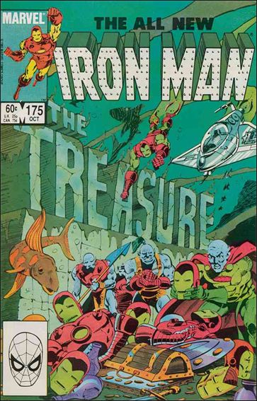 Iron Man (1968) 175-A by Marvel