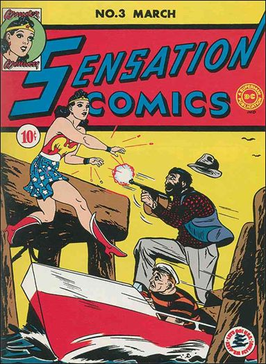 Sensation Comics (1942) 3-A by DC