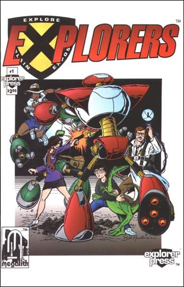 Explorers (1994) 1-A by Explorer Press