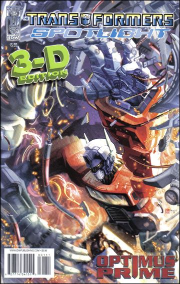 Transformers Spotlight nn9-D by IDW