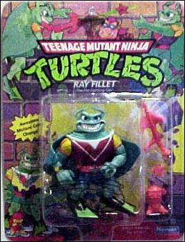 Teenage Mutant Ninja Turtles (1988) Ray Fillet (with Color Change) by Playmates