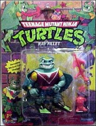 Teenage Mutant Ninja Turtles (1988) Ray Fillet (with Color Change)