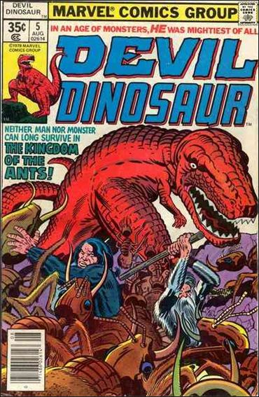 Devil Dinosaur 5-A by Marvel