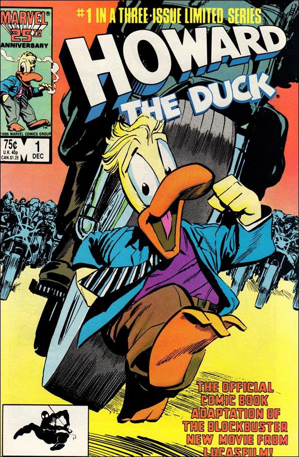 Howard the Duck: The Movie 1-A by Marvel