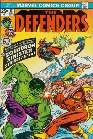 Defenders (1972) 13-A by Marvel