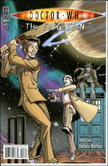 Doctor Who: The Forgotten 3-A by IDW