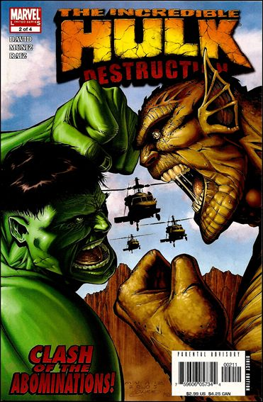 Hulk: Destruction 2-A by Marvel