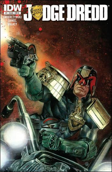 Judge Dredd (2012) 1-B by IDW