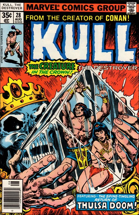 Kull the Destroyer 28-A by Marvel