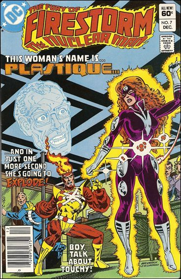 Fury of Firestorm 7-A by DC