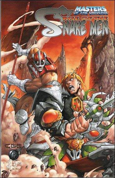 Masters of the Universe Rise of the Snake Men 2-A by CrossGen