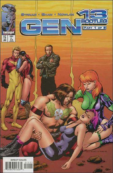 Gen13 Bootleg 15-A by WildStorm
