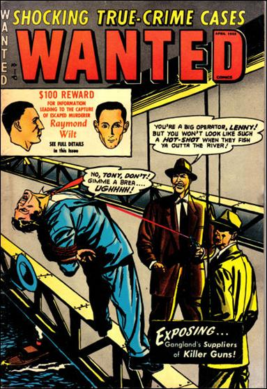 Wanted Comics 53-A by Toytown
