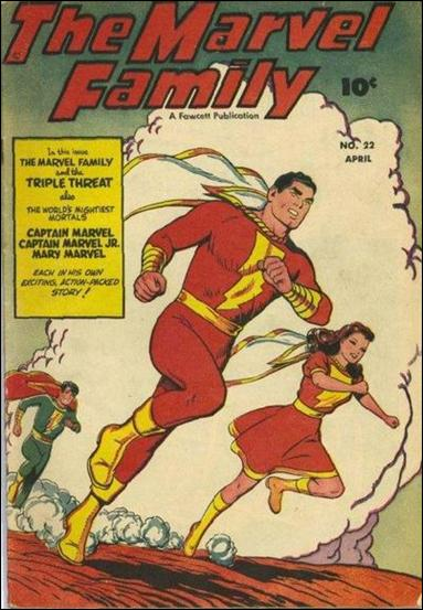 Marvel Family 22-A by Fawcett