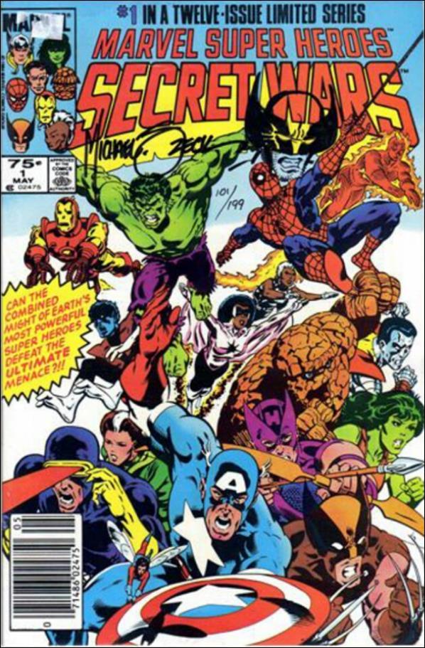 Marvel Super Heroes Secret Wars 1-B by Marvel