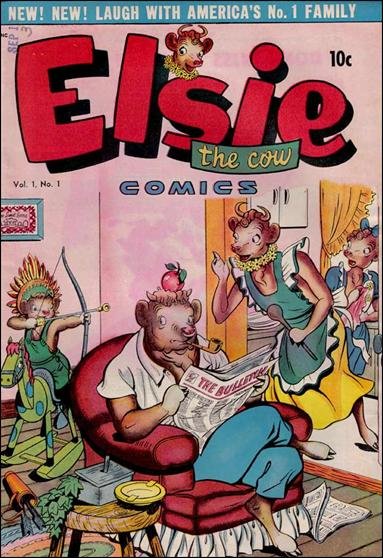 Elsie the Cow 1-A by D.S. Publishing