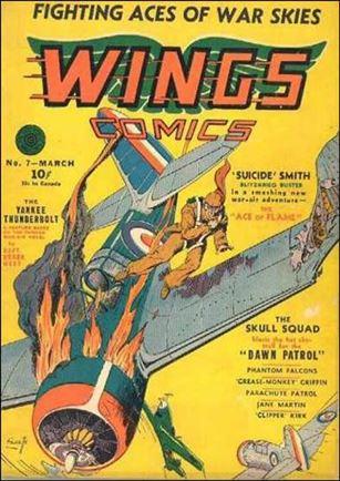 Wings Comics (1940) 7-A