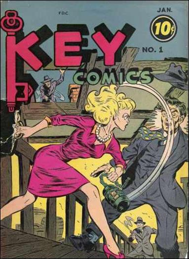 Key Comics 1-A by Consolidated Magazines