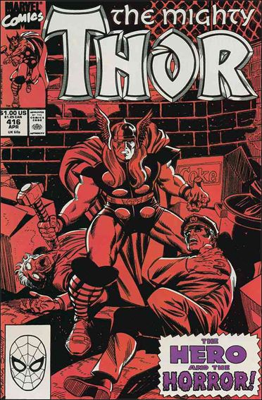 Thor (1966) 416-A by Marvel