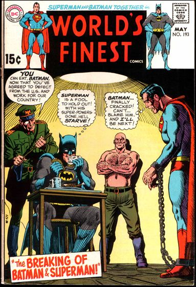 World's Finest Comics 193-A by DC