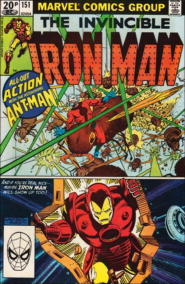 Iron Man (1968) 151-B by Marvel