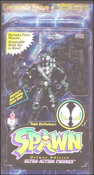 Spawn (Series  2) Commando Spawn Repaint (Green Trim) by Todd Toys