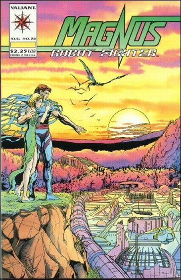 Magnus Robot Fighter (1991) 38-A by Valiant