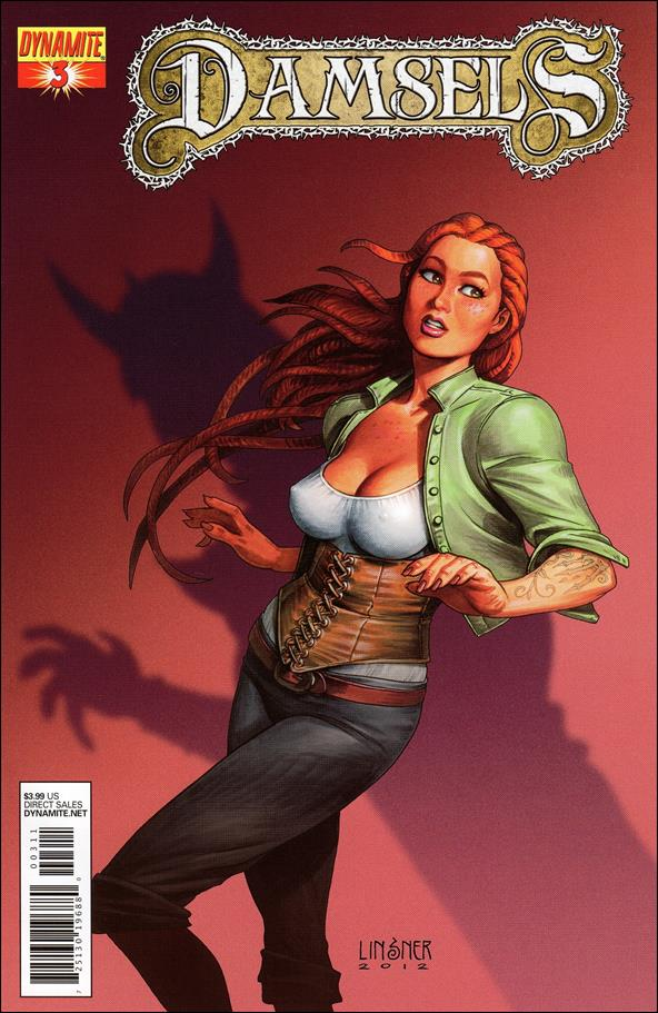 Damsels 3-A by Dynamite Entertainment
