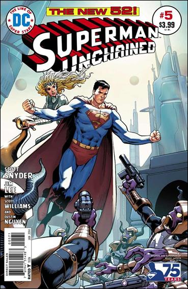 Superman Unchained 5-H by DC