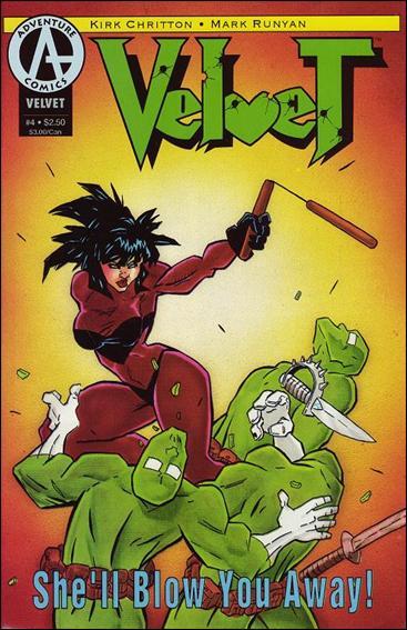 Velvet (1993) 4-A by Adventure