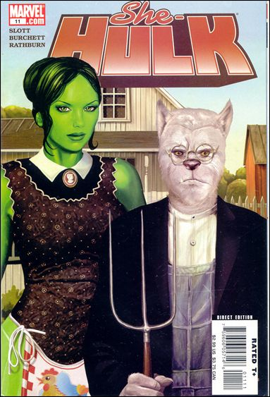 She-Hulk (2005) 11-A by Marvel