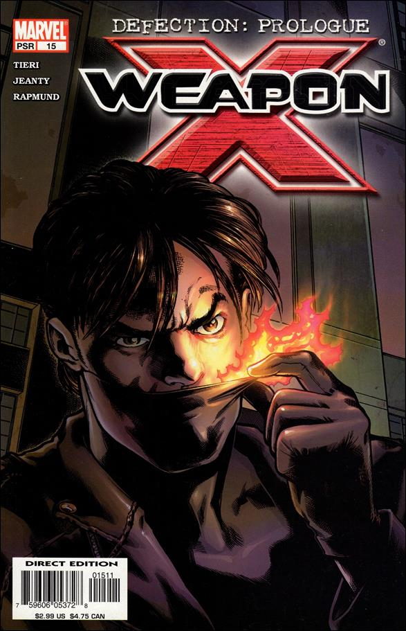Weapon X (2002) 15-A by Marvel