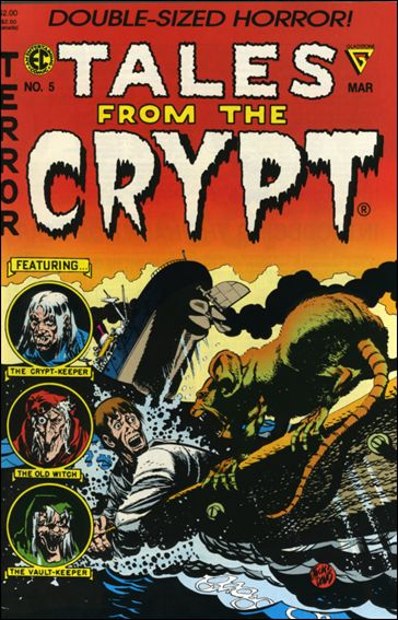 Tales from the Crypt (1990) 5-A by Gladstone