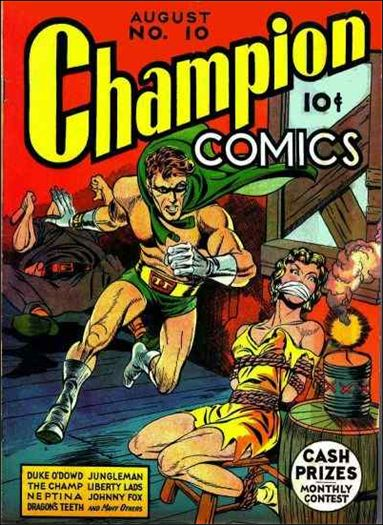 Champion Comics 10-A by Harvey