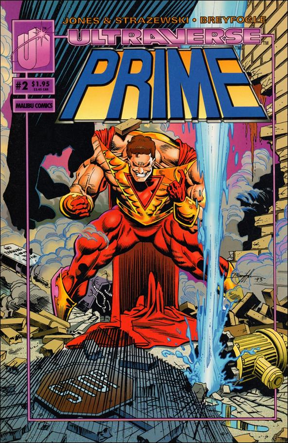 Prime (1993) 2-B by Malibu