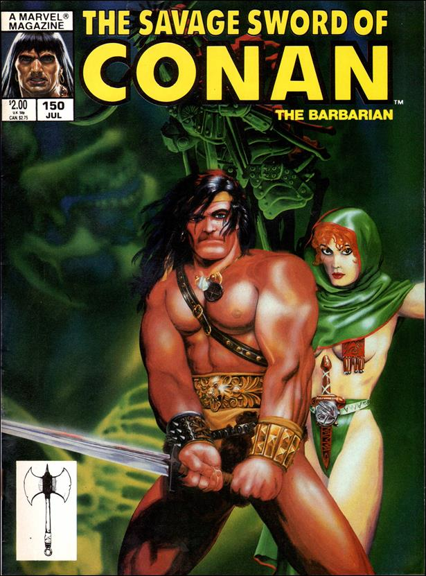 Savage Sword of Conan (1974) 150-A by Marvel