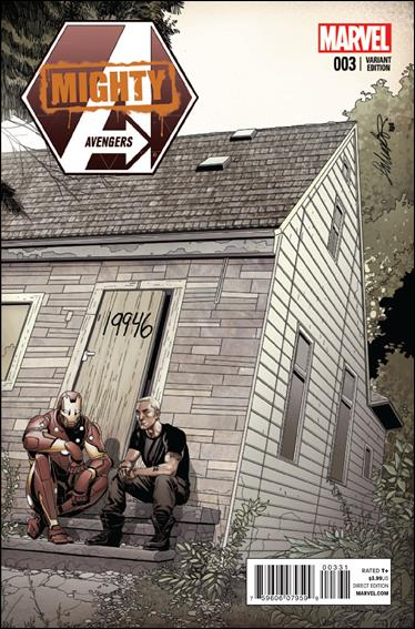 Mighty Avengers (2013) 3-C by Marvel