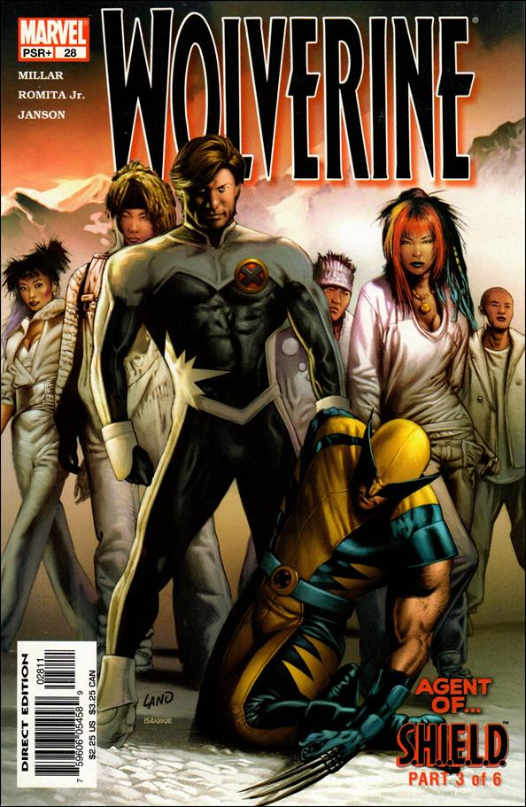 Wolverine (2003)  28-A by Marvel