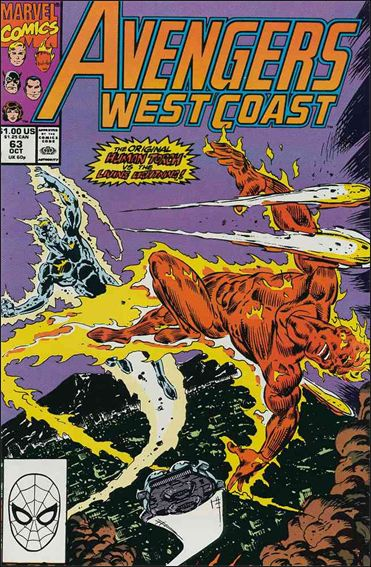 Avengers West Coast 63-A by Marvel