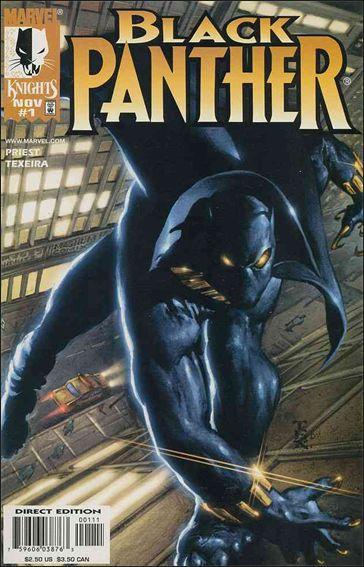 Black Panther (1998) 1-A by Marvel