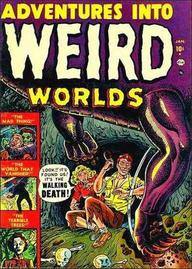 Adventures into Weird Worlds 1-A by Atlas