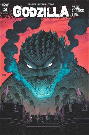 Godzilla: Rage Across Time 3-C
