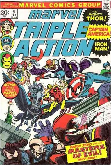 Marvel Triple Action (1972) 9-A by Marvel