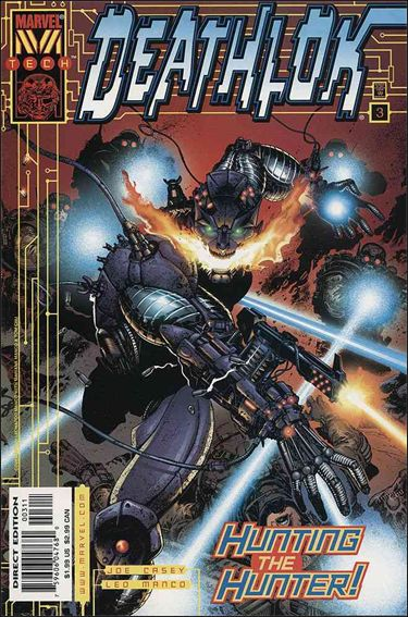 Deathlok (1999) 3-A by Marvel
