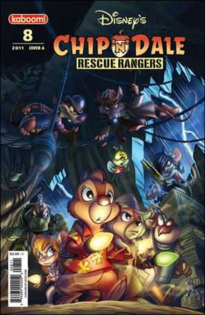 Chip 'n' Dale Rescue Rangers (2010) 8-A