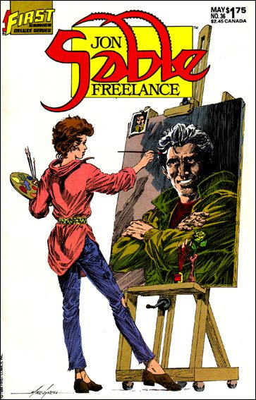 Jon Sable, Freelance 36-A by First