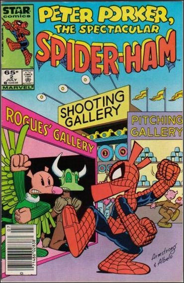 Peter Porker, The Spectacular Spider-Ham 2-A by Star