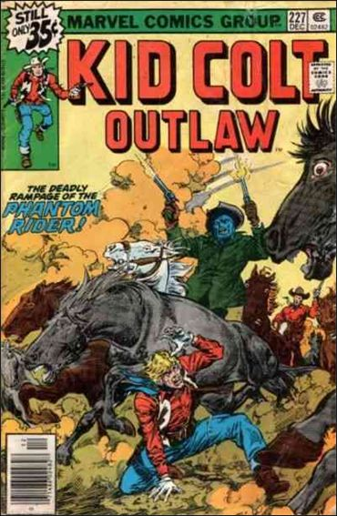 Kid Colt Outlaw  227-A by Marvel